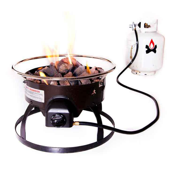 Camp Chef Redwood Portable Propane Fire Pit Sportsman S Warehouse