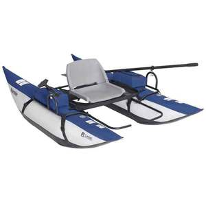 Classic Accessories Roanoke 8ft Inflatable Pontoon Boat