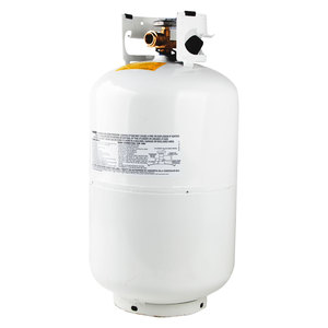 Flame King 30lb Empty Refillable Propane Cylinder with OPD Valve
