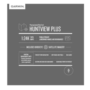Garmin HuntView Plus Maps