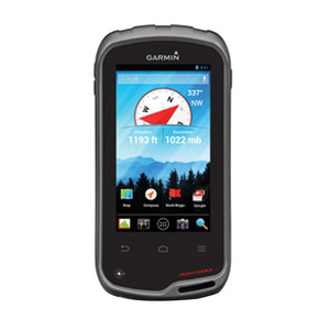 Garmin Monterra GPS With TOPO U.S. Maps