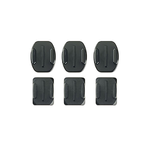 GoPro Hero3 Flat and Curved Adhesive Mounts