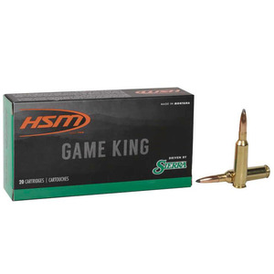 HSM Game King 6.5 Creedmoor 140gr SPT Rifle Ammo