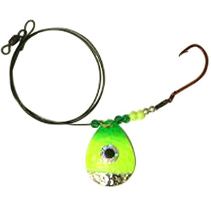 JB Lures Hot-Flash Pike Magnum Spinner Rig 950 Series