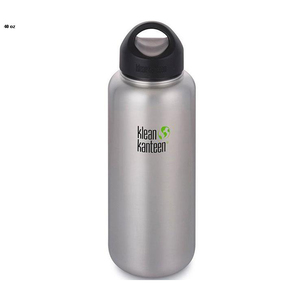 Klean Kanteen Wide Mouth Stainless Steel Water Bottles