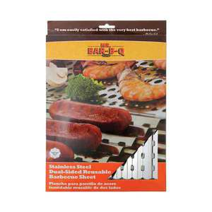 Mr BBQ Stainless Steel Folding Grill Topper