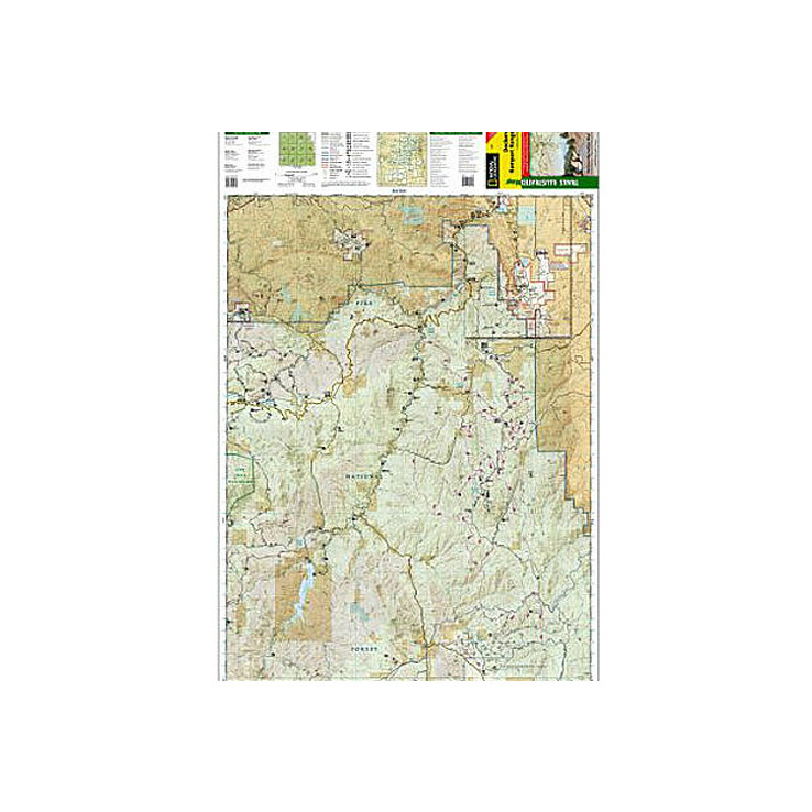 Deckers Colorado Map.National Geographic Deckers Rampart Range Trail Map Colorado Item