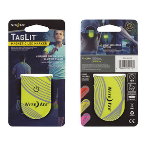 Nite Ize TagLit Magnetic LED Marker - Yellow/Green