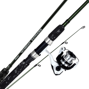 Okuma Voyager Express Travel Spinning Rod and Reel Combo Kit