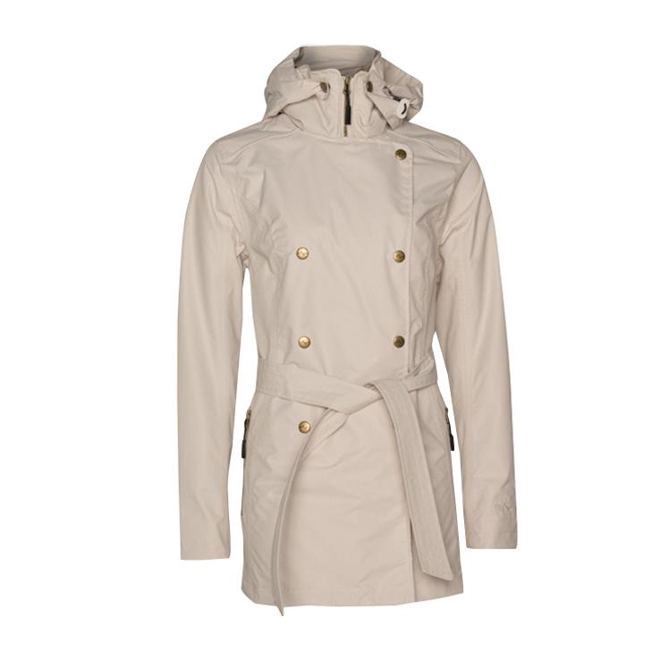 on feet at brand new autumn shoes Pulse Women's Trench Rain Jacket