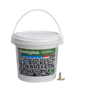 Remington Golden Bullet Bucket O Bullets 22 Long Rifle 36gr HP Rimfire Ammo - 1400 Rounds