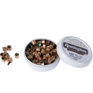 Remington Number 10 Percussion Caps 100-Pack