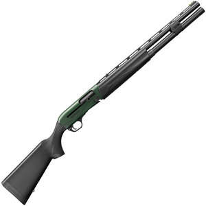 Remington V3 Competition Tactical Black/Green 12ga 3in Semi Automatic Shotgun - 22in