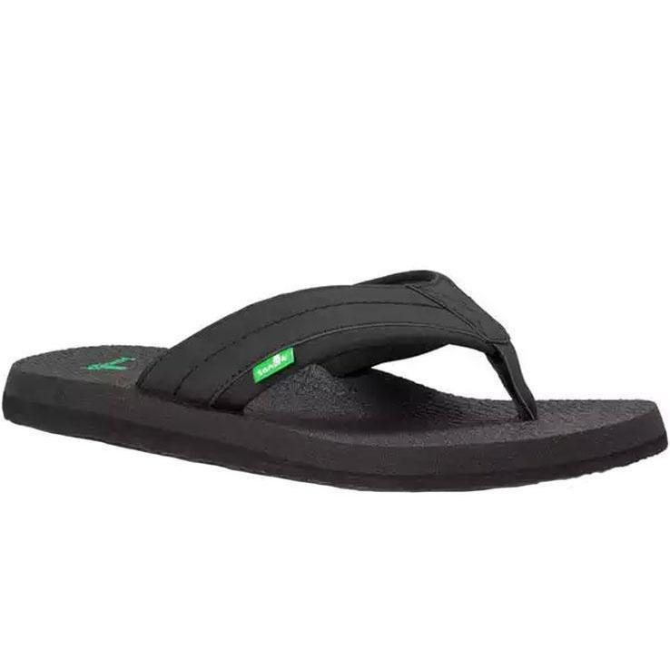 Sanuk Men S Beer Cozy Ii Sandal Black 12 Sportsman S