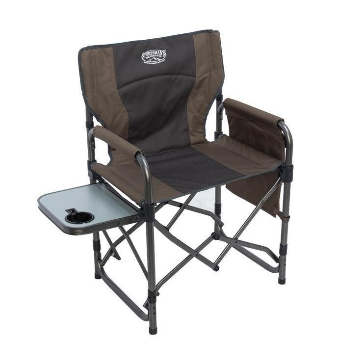 Sportsman S Warehouse Mega Ez Folding Director Chair Brown