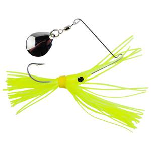 Strike King Micro King Spinnerbait - Chartreuse Head/Chartreuse Skirt, 1/16oz