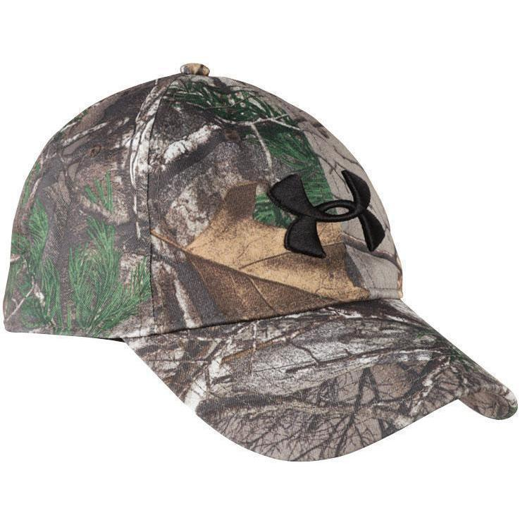 470a1be34e3 Under Armour Men s Camo Adjustable 2.0 Hunting Cap