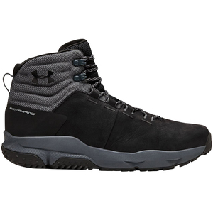 Under Armour Men's Culver Waterproof Mid Hiking Boots - Jet Black - Size 12
