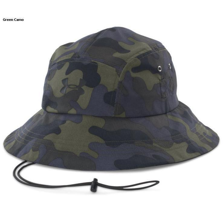cf9ca30ba19e0 Under Armour Men s Warrior Bucket Hat - Green Camo One size fits all ...