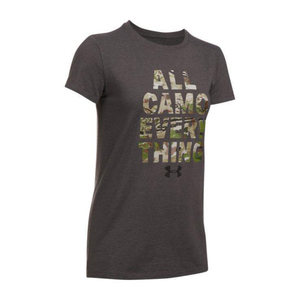 Under Armour Women's All Camo Everything Short Sleeve Shirt