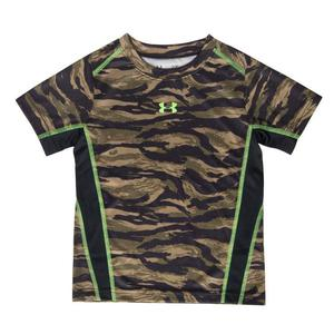Under Armour Youth Boy's Dumpster Dive Tiger Camo Short Sleeve T-Shirt