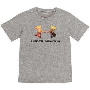 Under Armour Youth Hunt Big Logo Short Sleeve T-Shirt