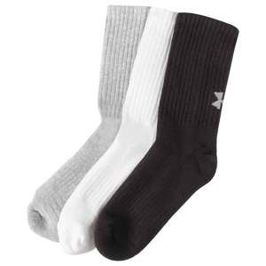 Under Armour Youth Training Crew 6 Pack Casual Socks